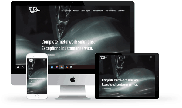 Manufacturing website design toronto