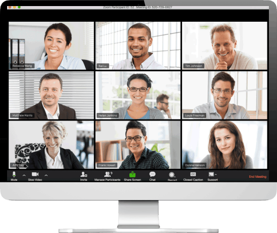 Video conferencing Zoom COVID 19 Coronavirus -